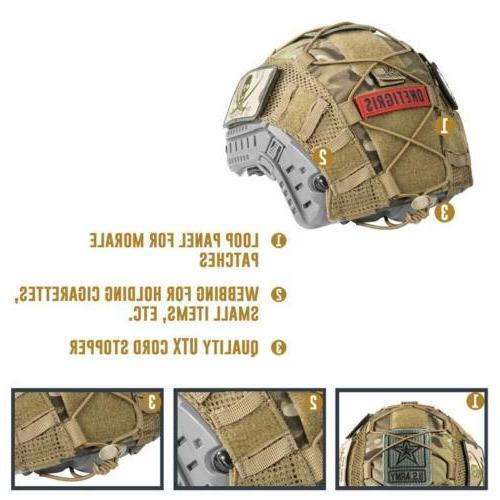 OneTigris Tactical Airsoft Helmet FAST