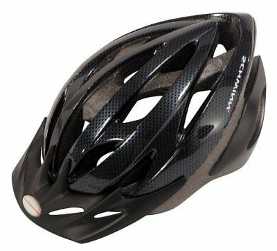 thrasher adult microshell bicycle helmet black grey