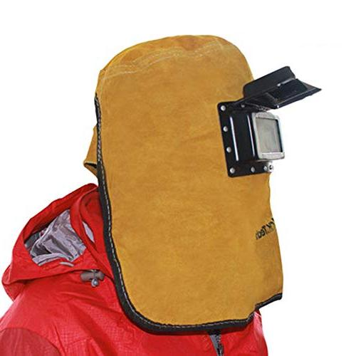 tyxhzl cowhide electric welding mask