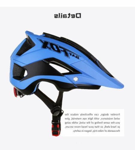 Unisex Bicycle Helmet Bike Helmet Detachable Visor