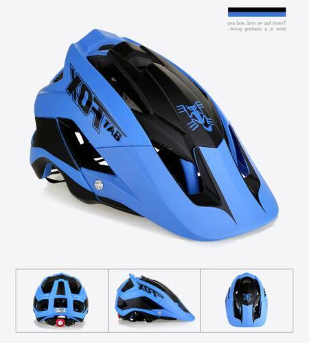 Unisex Bicycle Cycling MTB Helmet Skate Bike Helmet Detachable
