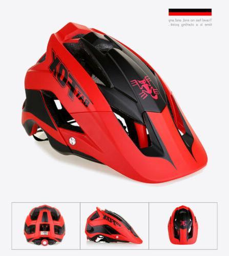 Unisex Cycling Helmet Mountain Bike Helmet Detachable Visor
