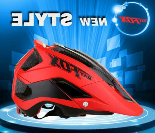 Unisex Bicycle Helmet Mountain Helmet Detachable Visor