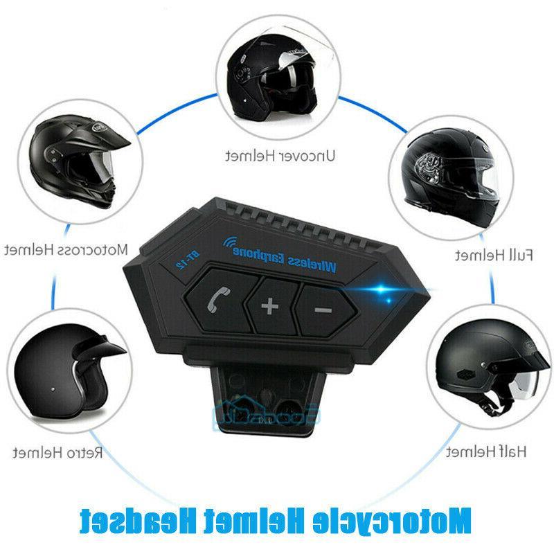 universal motorcycle wireless bluetooth helmet headset headp
