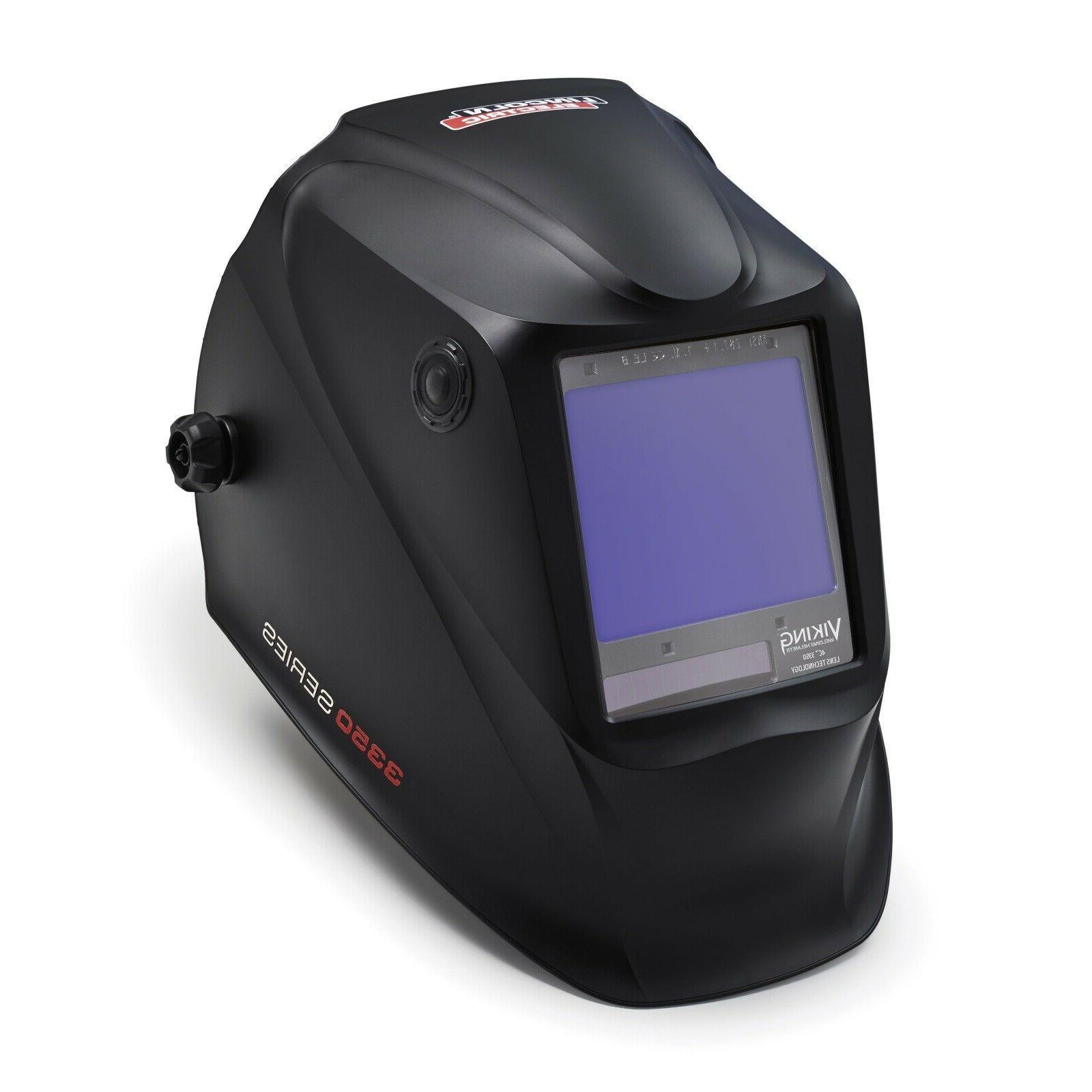 viking 3350 black welding helmet