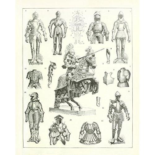vintage poster print warrior helmet