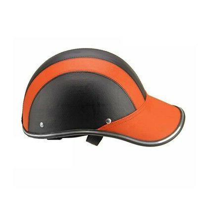 Windproof Safety Bike Adjustable Leather Warm Helmets