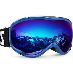 Zionor Lagopus Ski Snowboard Goggles UV Protection Anti-Fog
