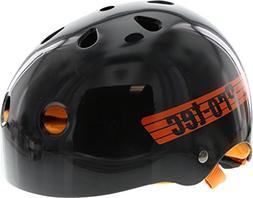 Protec Lasek Classic XS-Black/Orange Skateboard Helmet