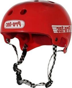 PROTEC LASEK L-SOLID RED HELMET