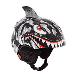 Giro Launch Plus Kids Snow Helmet Black/Grey Tiger Shark XS