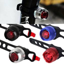 Led Bike Bicycle Cycling Front Rear Tail Helmet Safety Flash