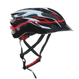 Glovion LED Light Bike Helmet Light Up Bicycle Helmet with A