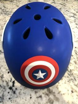 Marvel Avengers Captain America 3D Bike Helmet Child Age 5-8