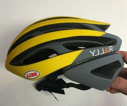 Small Bell Z20 Yellow Gray Rally Cycling MIPS Road Bike Helm