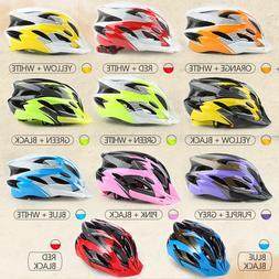 Men Women Bicycle Helmet Mountain Road Bike Integrally Molde