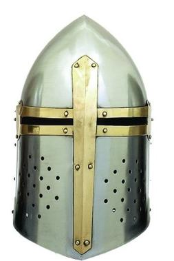 Deco 79 Metal Crusader Helmet Can Be Clubbed with Small Deco
