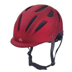 Ovation Metallic Protege Helmet M/L Red