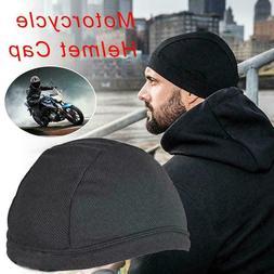 Moisture Wicking Cooling Skull Cap Helmet Inner Liner Beanie