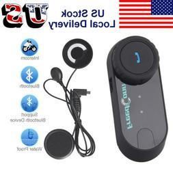 Motorcycle Bluetooth Intercom Communication System Helmet So
