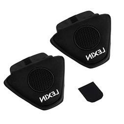 LEXIN Motorcycle Half Helmet Ear Pad for Headphone for Motor