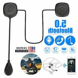 motorcycle helmet headset wireless bluetooth 5 0