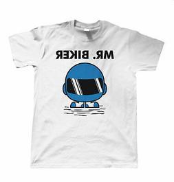 Mr Biker Mens Funny Biker T Shirt - Superbike Gift for Him D