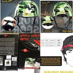 Flybar Multi Sport Camo Helmets size S/M for skateboarding,