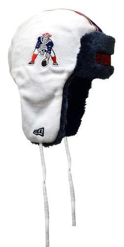 New England Patriots Throwback New Era Helmet Head Knit Trap