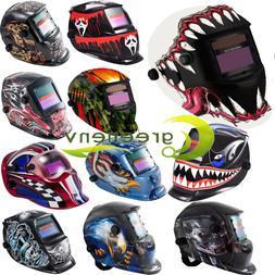 NEW Pro Auto Darkening Welding Helmet Arc Tig mig Grinding W