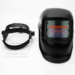 New Pro Solar Powered Auto Darkening Welding Helmet Grinding
