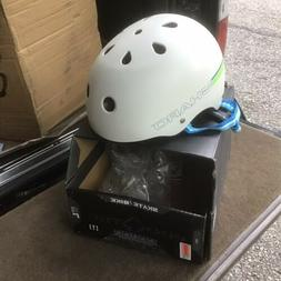 NEW Pro Tec Skateboard Helmet The Classic White Skate / Bike