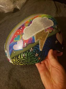 NEW Raskullz Rainbow Flies Multisport Helmet with LED Lights