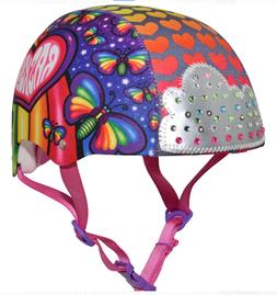 05cc91d6a23 NEW Raskullz Rainbow Flies Multisport Helmet with LED Lights