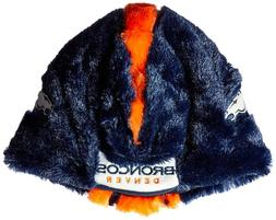 NFL Denver Broncos Team Color Logo Cozy Helmet Winter Hat Un