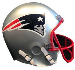 NFL NEW ENGLAND PATRIOTS FULL SIZE FOAM HELMET HEAD NEW