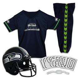 Franklin Sports NFL Seattle Seahawks Deluxe Youth Uniform Se