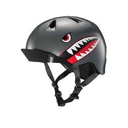 Bern Nino Helmet Satin Grey Flying Tiger SM Bicycle Skate Bi