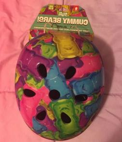 NWT Krash All over Gummy Bears Multisport Helmet sz 8-14 You