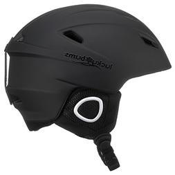 OpenBox Lucky Bums Powder Series, Snow Sport Helmet, Black,
