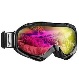 OutdoorMaster OTG Ski Goggles - Over Glasses Ski / Snowboard