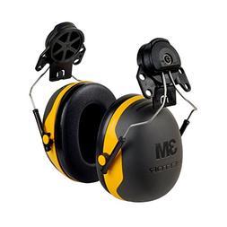 3M Peltor XSeries X2P3E CapMount Earmuffs, NRR 24 dB, One Si