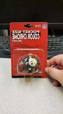 Pittsburgh Steelers Riddell Pocket Size Color Chrome Helmet