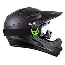Demon United Podium Black/Black Full Face Mountain Bike Helm
