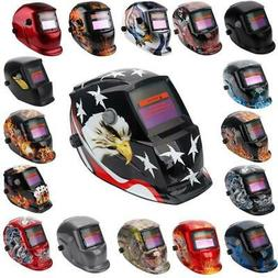 Pro Solar Auto Darkening Welding Helmet Arc Tig Mig Mask Gri