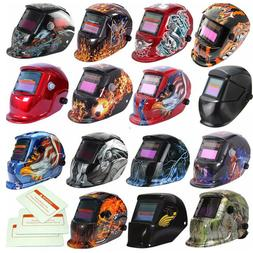Pro Solar Auto-Darkening Welding Helmet Lens Mask Grinding W