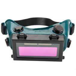 Pro Solar Powered Auto Darkening Welding Eyeshade Filter Len