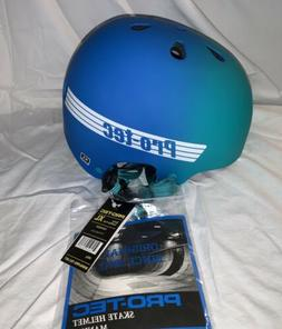PRO-TEC CLASSIC BUCKY SKATE HELMET XL TEAL BLUE FADE UNISEX