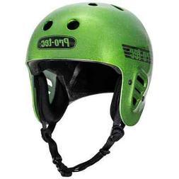 Pro-Tec Full Cut Helmet - Candy Green Flake