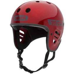 Pro-Tec Full Cut Helmet - Red Metal Flake